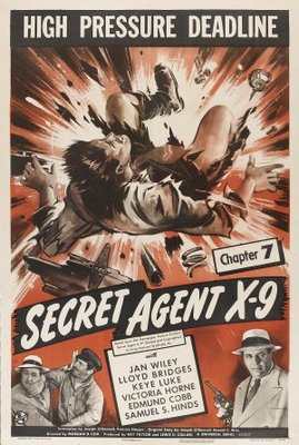 Secret Agent X-9 movie poster (1945) poster MOV_0a88a8c7
