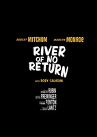River of No Return movie poster (1954) picture MOV_0abbb478