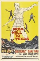 From Hell to Texas movie poster (1958) picture MOV_0abfb451