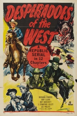 Desperadoes of the West movie poster (1950) poster MOV_0af257d9