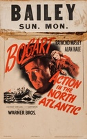 Action in the North Atlantic movie poster (1943) picture MOV_0b081348