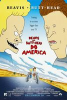 Beavis and Butt-Head Do America movie poster (1996) picture MOV_0b3a6862