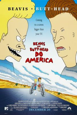 Beavis and Butt-Head Do America movie poster (1996) poster MOV_0b3a6862