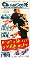 How to Marry a Millionaire movie poster (1953) picture MOV_0b7196b0