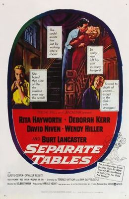 Separate Tables movie poster (1958) poster MOV_0b79a74d