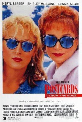 Postcards from the Edge movie poster (1990) poster MOV_0b8d635f