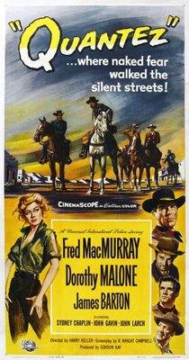 Quantez movie poster (1957) poster MOV_0bbc421a