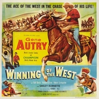 Winning of the West movie poster (1953) picture MOV_0bd0f463