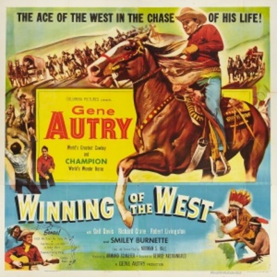 Winning of the West movie poster (1953) poster MOV_0bd0f463