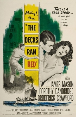 The Decks Ran Red movie poster (1958) poster MOV_0becd1ee