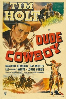 Dude Cowboy movie poster (1941) poster MOV_0c005d64