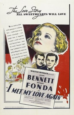 I Met My Love Again movie poster (1938) poster MOV_0c15e381