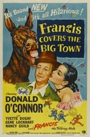 Francis Covers the Big Town movie poster (1953) picture MOV_0c2548d2