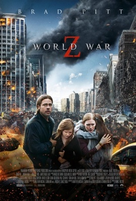 World War Z movie poster (2013) poster MOV_0c3c86c4