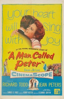 A Man Called Peter movie poster (1955) poster MOV_0c65abbf
