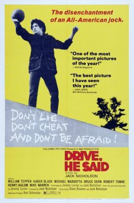 Drive, He Said movie poster (1971) poster MOV_0c83beda