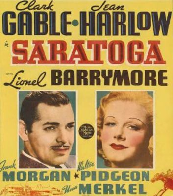 Saratoga movie poster (1937) poster MOV_0c919467