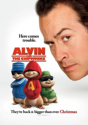 Alvin and the Chipmunks movie poster (2007) poster MOV_0ca5fcc1