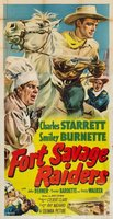 Fort Savage Raiders movie poster (1951) picture MOV_0cb83478