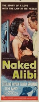 Naked Alibi movie poster (1954) picture MOV_0cc6b083