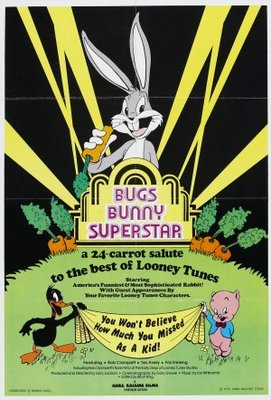 Bugs Bunny Superstar movie poster (1975) poster MOV_0cc74205