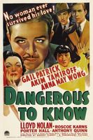 Dangerous to Know movie poster (1938) picture MOV_0cd19739