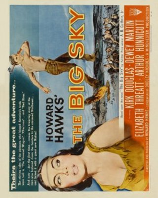 The Big Sky movie poster (1952) poster MOV_0cd2a2c3