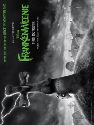 Frankenweenie movie poster (2012) poster MOV_0cea2bac