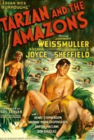 Tarzan and the Amazons movie poster (1945) picture MOV_0d007b19
