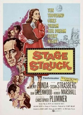 Stage Struck movie poster (1958) poster MOV_0d00a713