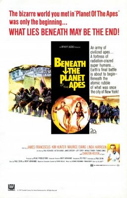 Beneath the Planet of the Apes movie poster (1970) poster MOV_0d2cba82