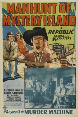 Manhunt of Mystery Island movie poster (1945) poster MOV_0d2fa20f