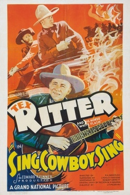 Sing, Cowboy, Sing movie poster (1937) poster MOV_0d34143b