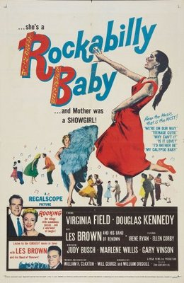 Rockabilly Baby movie poster (1957) poster MOV_0d524d9f