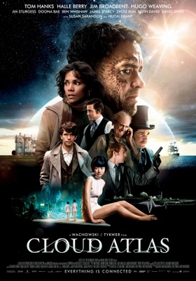 Cloud Atlas movie poster (2012) poster MOV_0d5559a9