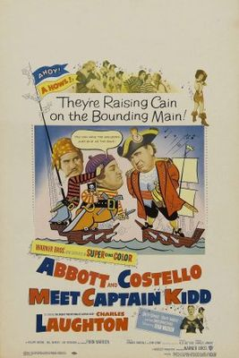 Abbott and Costello Meet Captain Kidd movie poster (1952) poster MOV_0d6423a8
