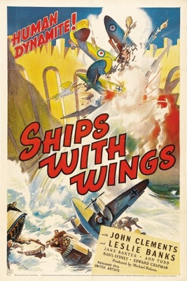 Ships with Wings movie poster (1942) poster MOV_0d69a5b9