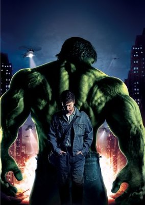 The Incredible Hulk movie poster (2008) poster MOV_0d6d237f