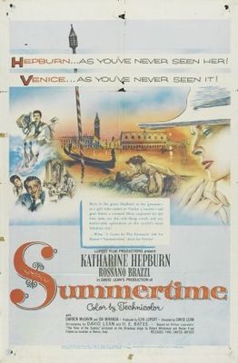 Summertime movie poster (1955) poster MOV_0d8d9d46