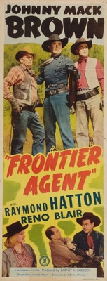 Frontier Agent movie poster (1948) poster MOV_0db0bd6c