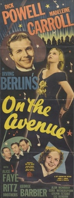 On the Avenue movie poster (1937) poster MOV_0dd266d4
