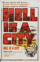 Hell Is a City movie poster (1960) picture MOV_0dede16b