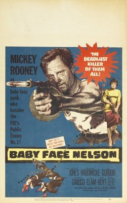 Baby Face Nelson movie poster (1957) poster MOV_0df66548