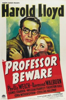Professor Beware movie poster (1938) poster MOV_0df68eeb