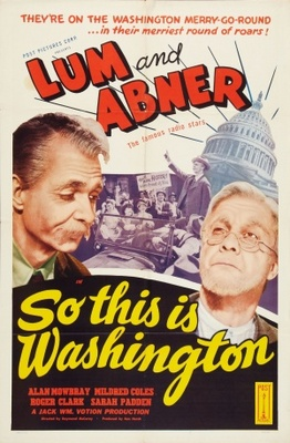 So This Is Washington movie poster (1943) poster MOV_0e0025a7