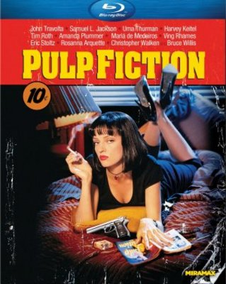 Pulp Fiction movie poster (1994) poster MOV_0e35019c