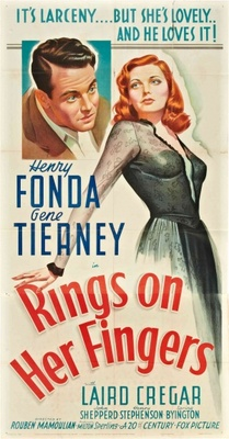 Rings on Her Fingers movie poster (1942) poster MOV_0e421d7e
