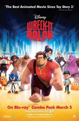 Wreck-It Ralph movie poster (2012) poster MOV_0e49d581