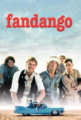 Fandango movie poster (1985) poster MOV_0e5ba4ad