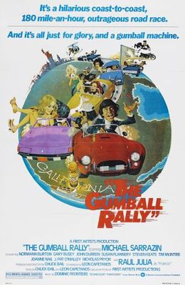 The Gumball Rally movie poster (1976) poster MOV_0e7aecca
